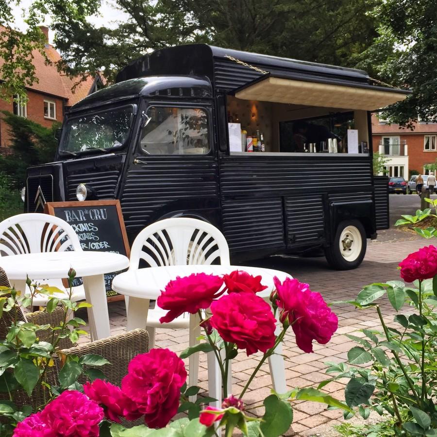 Mobile bar for Richmond Village Festival